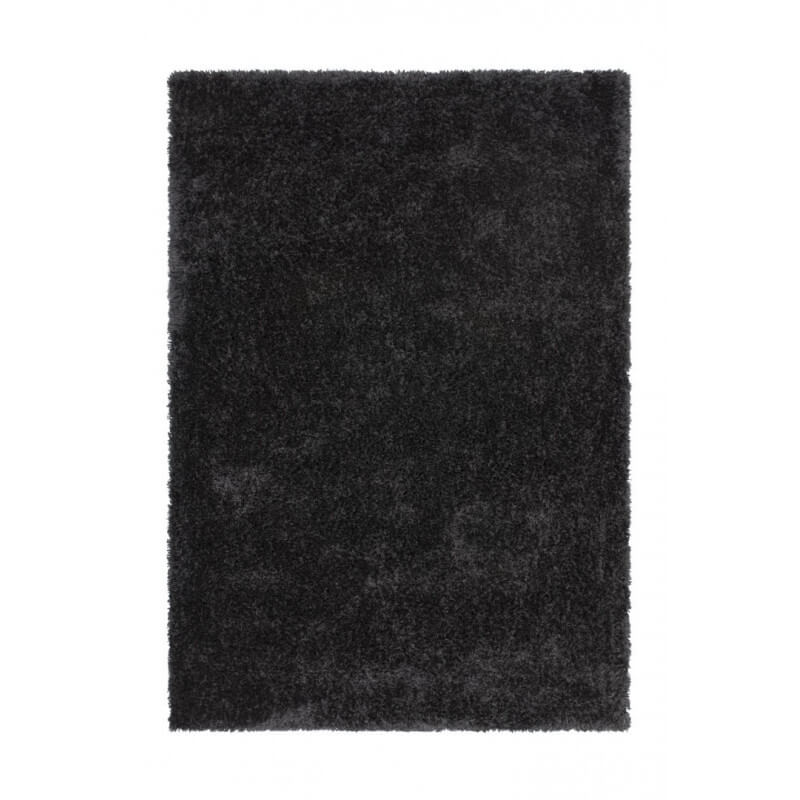 tapis fait main shaggy graphite style par lalee. Black Bedroom Furniture Sets. Home Design Ideas