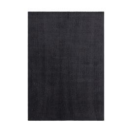 Tapis à courtes mèches microfibre doux graphite Velluto