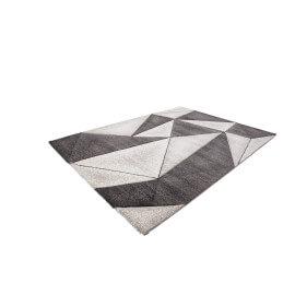 Tapis design platine à courtes mèches Verdi