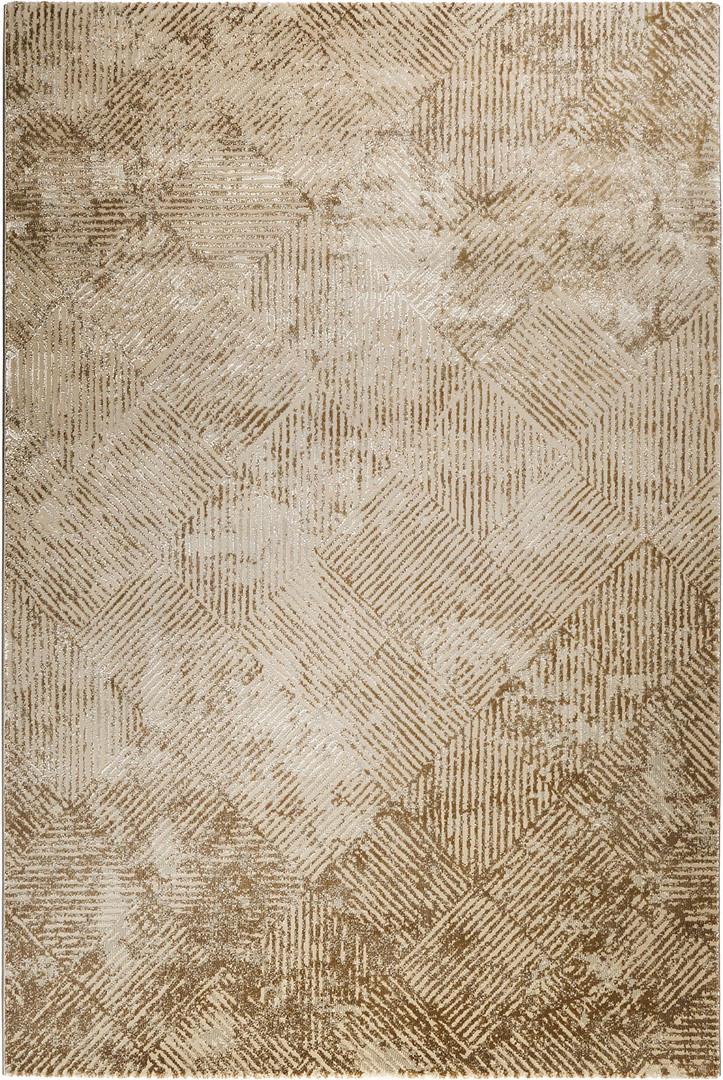 Tapis vintage géométrique en polyester doux Vintage Tiles