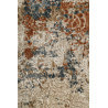 Tapis en polyester doux sable vintage Baroque Vintage