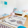 Tapis pour bébé multicolore rectangle Kwi