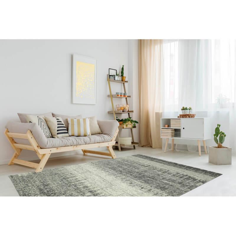 tapis design de grande taille beige varoy. Black Bedroom Furniture Sets. Home Design Ideas