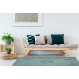 Tapis style oriental en coton vert océan Sarouk Shades