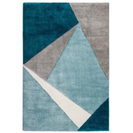 Tapis Géométrique Pour Salon Moderne Viki