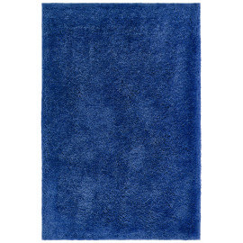 Tapis en polyester doux shaggy bleu azur Wow