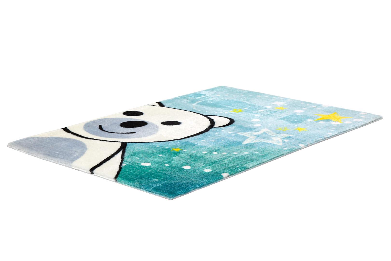 tapis pour chambre b b multicolore doux en polyester ours. Black Bedroom Furniture Sets. Home Design Ideas