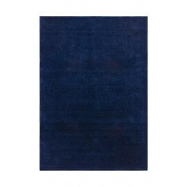 Tapis en laine ethnique doux bleu Supreme
