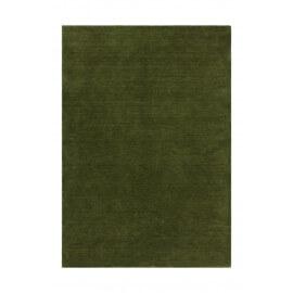 Tapis en laine ethnique doux vert Supreme