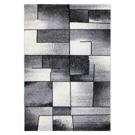 Tapis design gris rectangle Balea