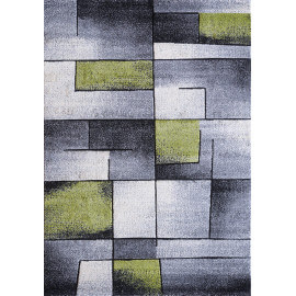 Tapis design vert rectangle Balea