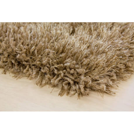 Tapis shaggy uni Durian personnalisable