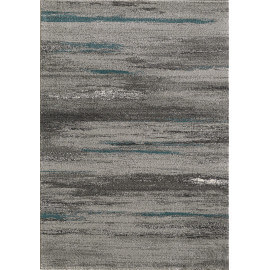 Tapis rayé moderne rectangle Hypnose