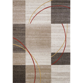 Tapis contemporain multicolore pour salon Nati