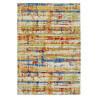 Tapis rectangle multicolore vintage Andria