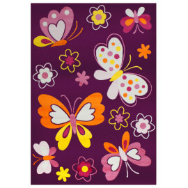 Tapis bébé rectangle Amira