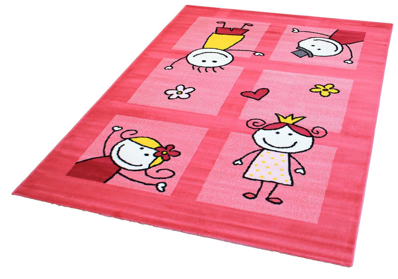Tapis pour chambre de b b mila Tapis rose chambre bebe