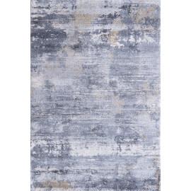 Tapis design rayé gris doiux pour salon Visio
