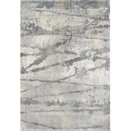 Tapis gris doux en polypropylène Boras