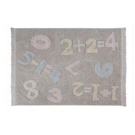 Tapis pour chambre de bébé coloré Baby Numbers Lorena Canals
