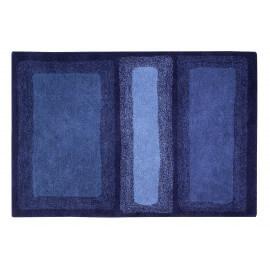 Tapis Lorena Canals en coton bleu Water