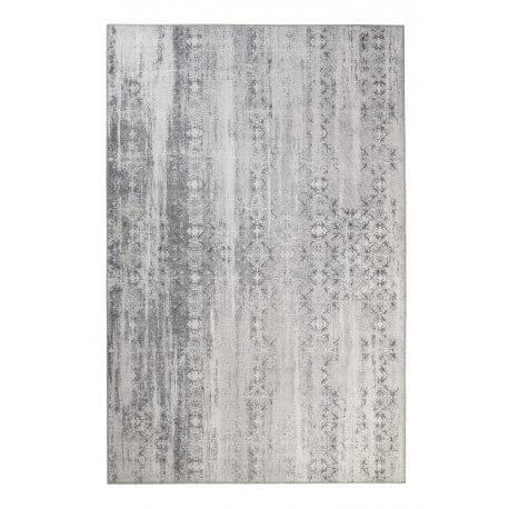 Tapis gris vintage polyester Alaska Wecon Home