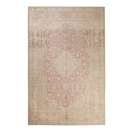 Tapis oriental beige rectangle Past Future Wecon Home