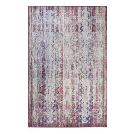 Tapis à mèches courtes pourpre vintage Embrace Wecon Home