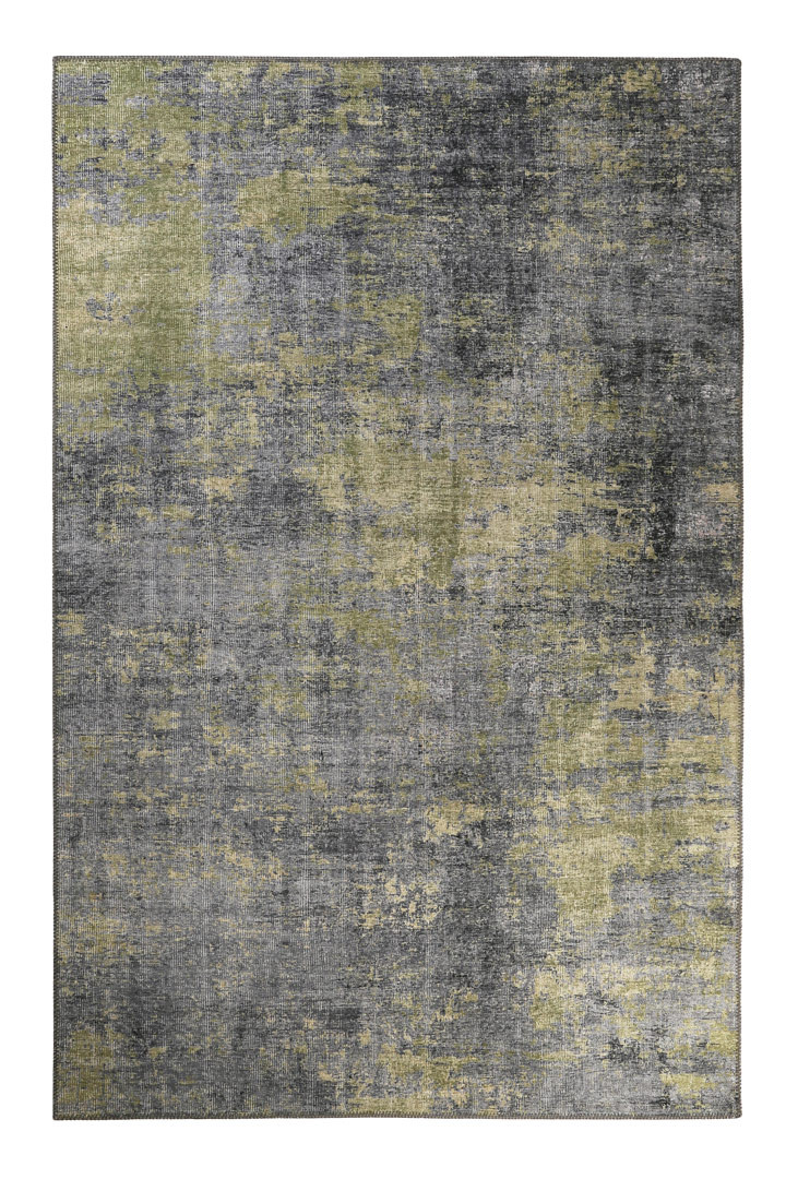 Tapis gris vintage rectangle Night Hour Wecon Home