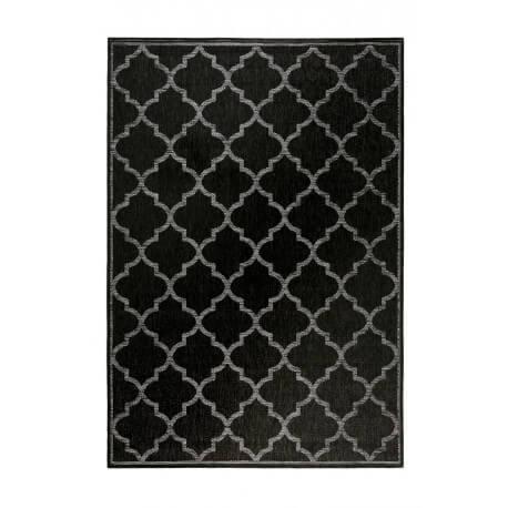 tapis extrieur et intrieur plat anthracite et gris gleamy outdoor wecon home - Tapis Exterieur