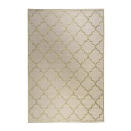 Tapis extérieur et intérieur plat beige Gleamy Outdoor Wecon Home
