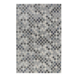 Tapis en polyester rectangle cubisme gris Physical 2.0 Wecon Home