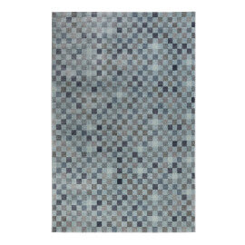 Tapis en polyester rectangle cubisme bleu Physical 2.0 Wecon Home