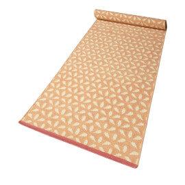 Tapis géométrique en laine plat orange Hanno Kelim Esprit Home