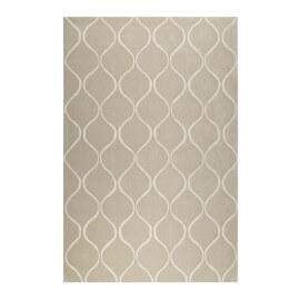 Tapis sable en laine de N-Z rectangle géométrique Aramis Esprit Home