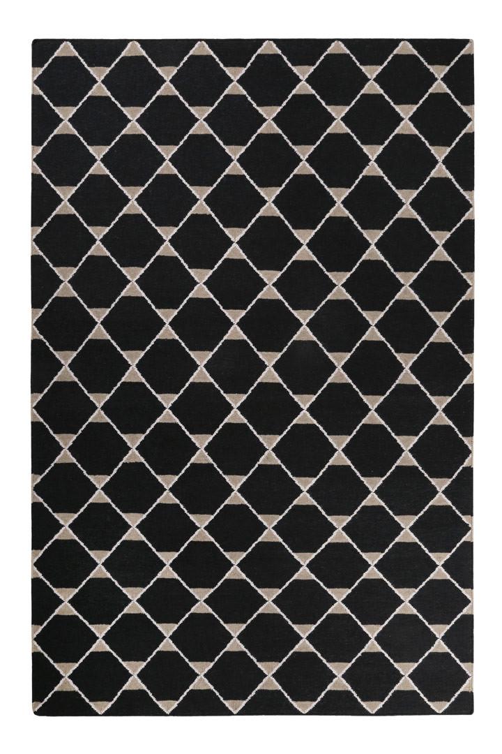 Tapis plat en laine géométrique Aaron Kelim Esprit Home