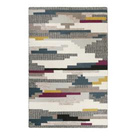 Tapis multicolore géométrique plat Natham Kelim Esprit Home