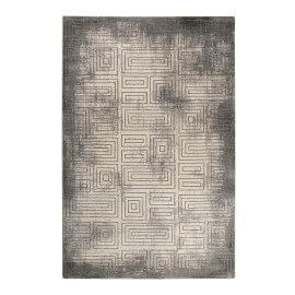 Tapis gris géométrique vintage Aiden Esprit Home