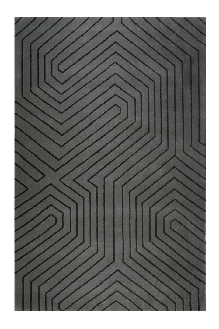 Tapis courtes mèches géométrique Raban Esprit Home