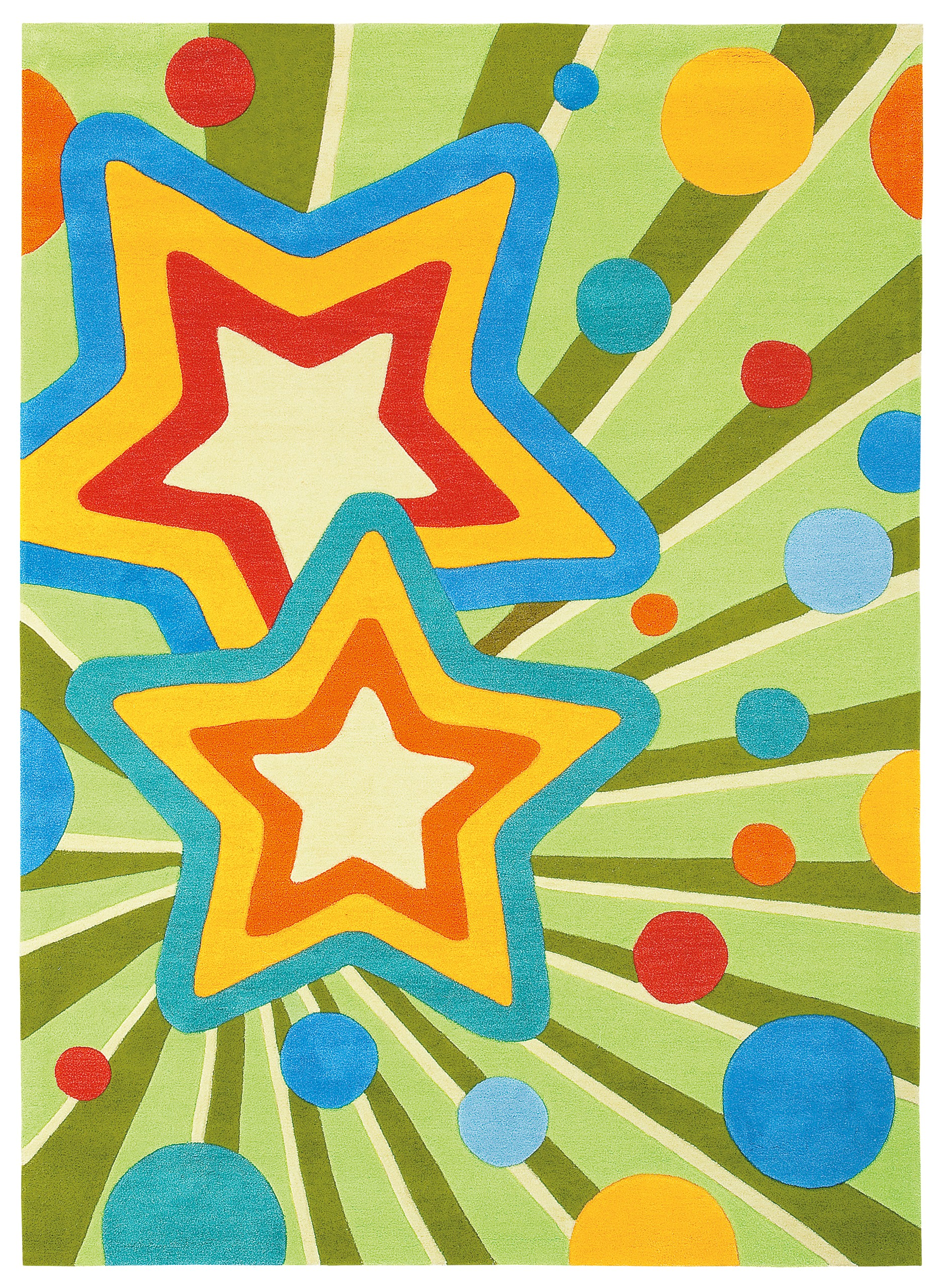 Tapis enfant Feel The Groove stars par Arte Espina