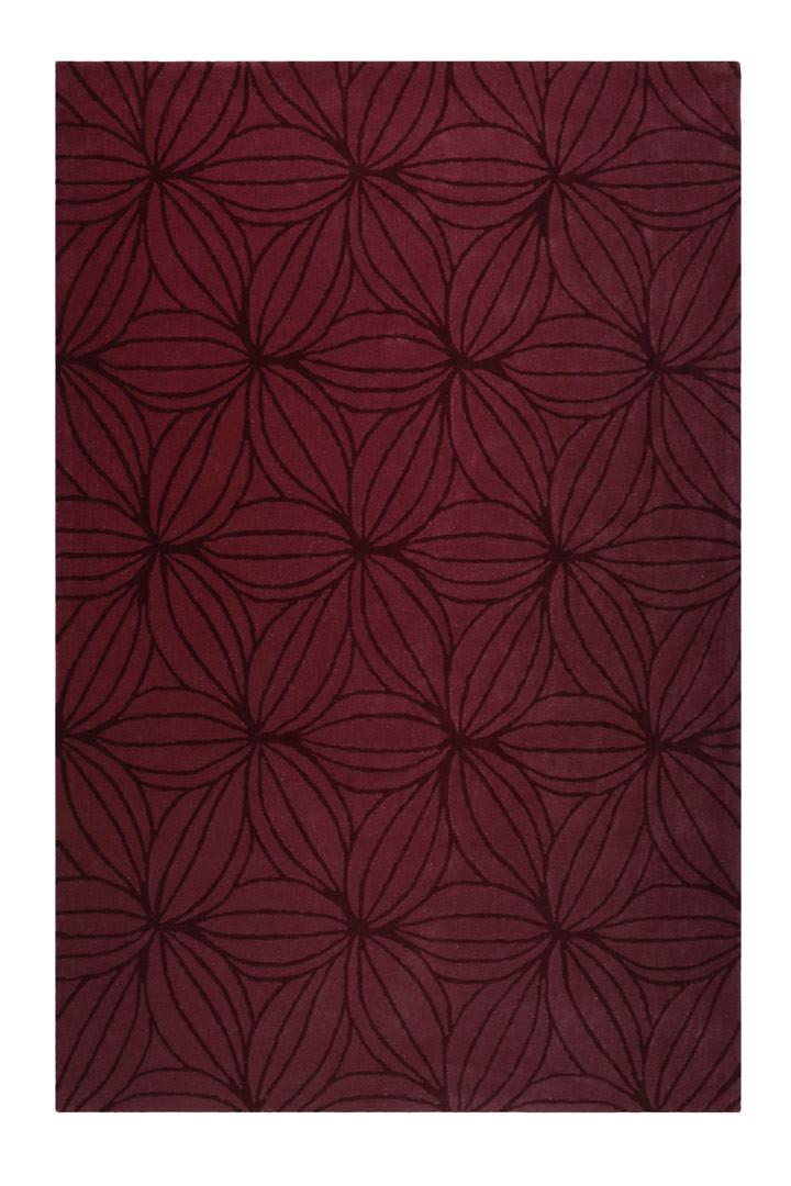 Tapis floral en laine de N-Z design Oria Esprit Home