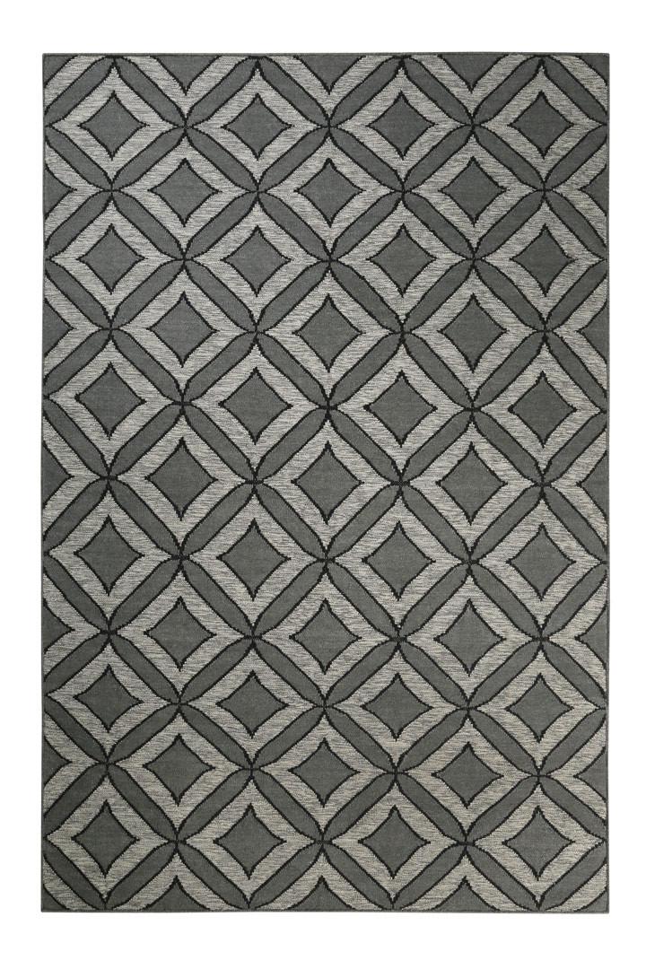 Tapis en laine Esprit Home plat géométrique Kian Kelim