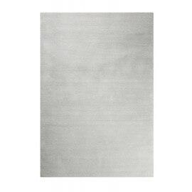 Tapis gris clair shaggy doux uni Loft Esprit Home