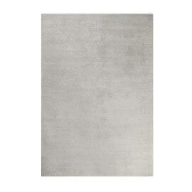 Tapis gris ciment shaggy doux uni Loft Esprit Home