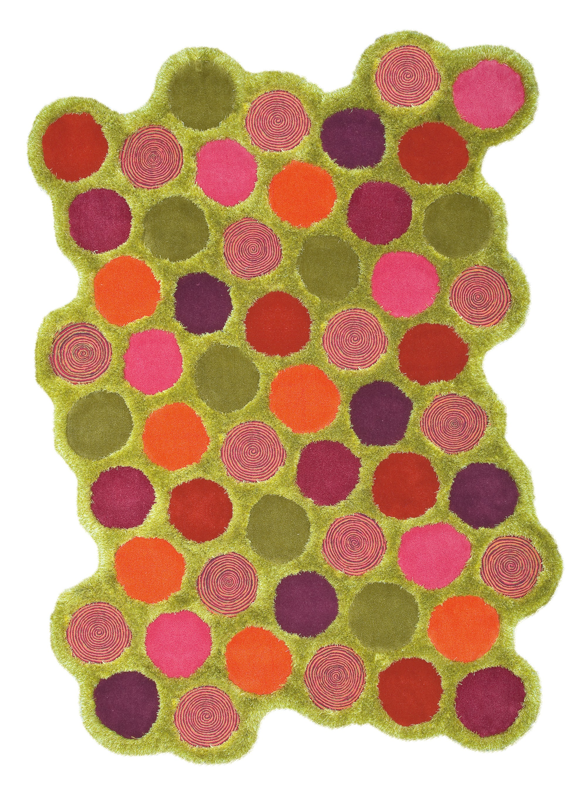 Tapis vert Bizarre Bazar par Arte Espina