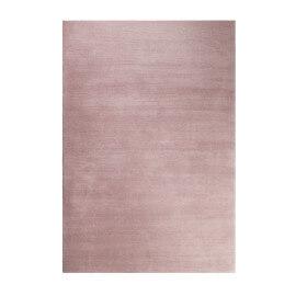 Tapis rose pastel shaggy doux uni Loft Esprit Home