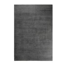 Tapis gris ardoise shaggy doux uni Loft Esprit Home