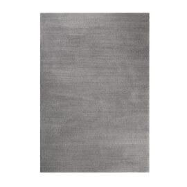 Tapis gris caillou shaggy doux uni Loft Esprit Home