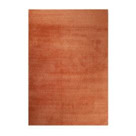 Tapis orange shaggy doux uni Loft Esprit Home