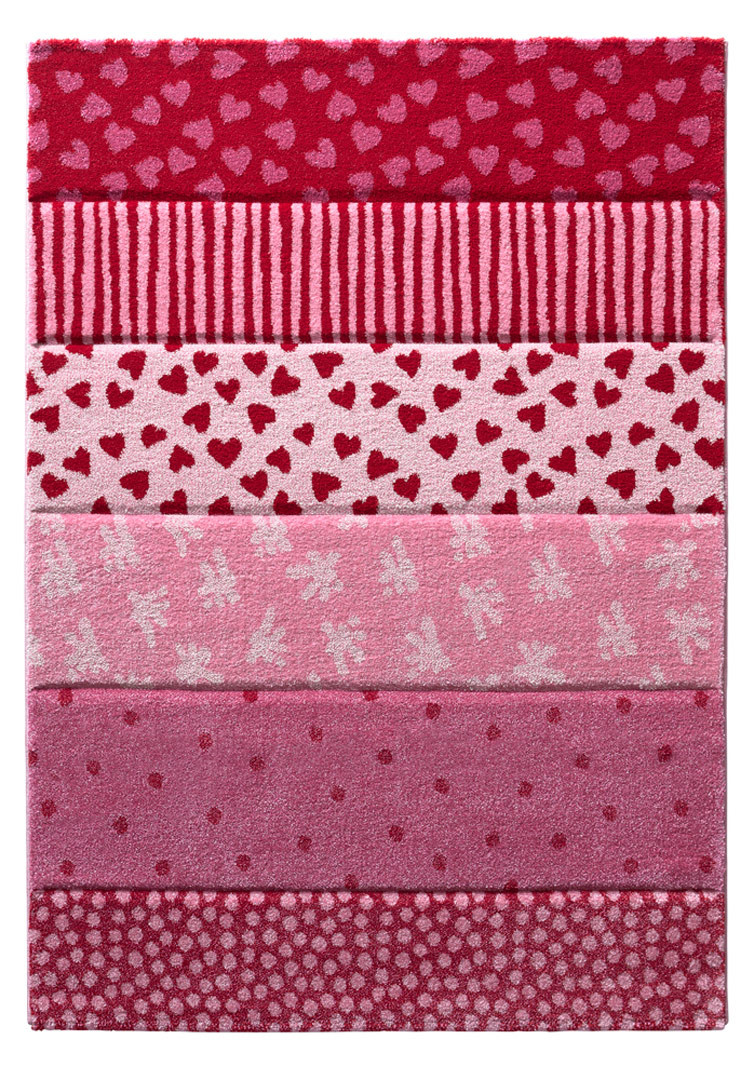 Tapis pour fille rectangle Canon Sigikid